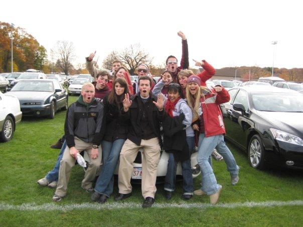 LDSSA tailgate: Harvard 37 - Yale 6